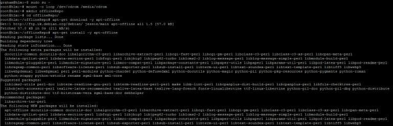 5.install apt-offline